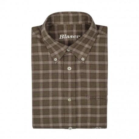 Myslivecká košile Blaser Hugo popelínová