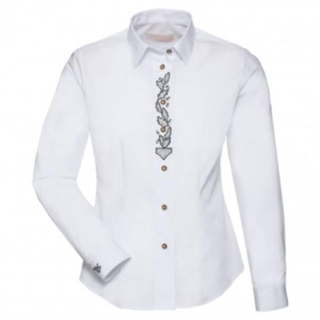 Myslivecká košile Luko dámská s výšivkou dubového listu