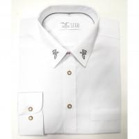 Myslivecká košile Luko s výšivkou dubový list - dlouhý rukáv