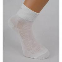 Ponožky letní sport Bobr bílé