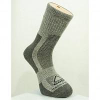 Ponožky jaro-podzim Bobr šedé