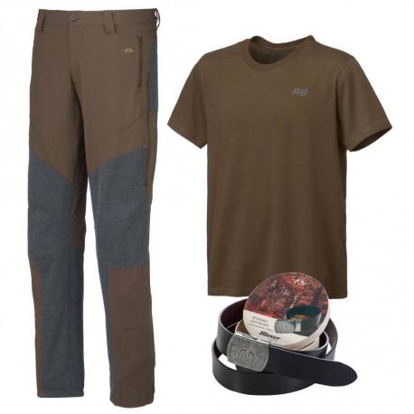 Zvýhodněný set Blaser – lovecké kalhoty, tričko a pásek
