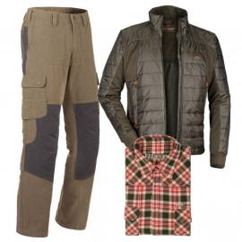 Zvýhodněný set Blaser – bunda, kalhoty a košile s dárkem