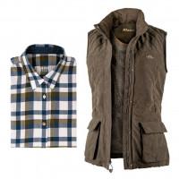 Zvýhodněný dámský set Blaser – lovecká vesta a košile s dárkem