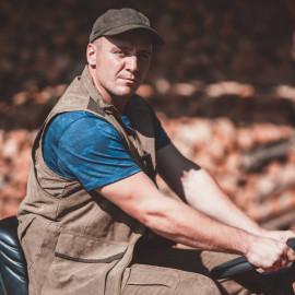Zvýhodněný set Blaser – lovecká vesta, tričko a čepice