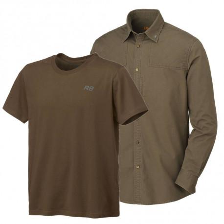 Zvýhodněný set Blaser – lovecká košile a tričko